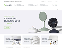 Furnilife - Furniture eCommerce Bootstrap 4 Template