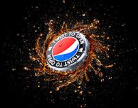 Pepsi Black Bottle