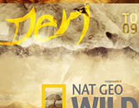 Den Typography for Nat Geo Wild (Concept)