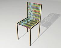 Projet études Ceci n'est pas une chaise Léo Abbate