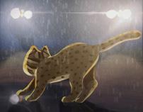 [Illustration] Leopard cat in Taiwan
