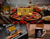 Layout Design Yellow Cab Pizza