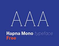 Hapna Mono Free Typeface