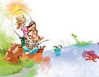 1º GRADO Ilustraciones PORTADA-COVER