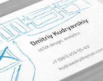 ui-designer business card