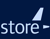 The Jet Airways retail store logo & merchandise design