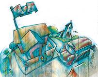 3º GRADO Ilustraciones Portadas