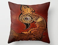 Cushion Designs- http://society6.com/HumnaMustafa