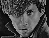Newt (Canvas painting)