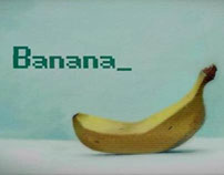 "Dubbing the mini-movie ""Banana"""