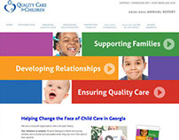 Quality Care for Children 2011 Annual Report Website