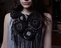 In Bloom | Crocheted Neck Piece