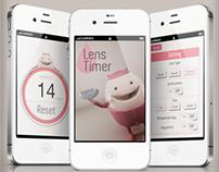 Lens TImer app
