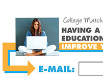 College Matching Service Lead Generation Marketing