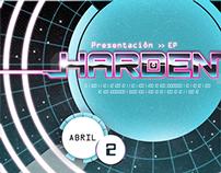Harden Logo/Gig Poster