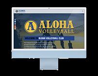 Aloha Volleyball Club Website