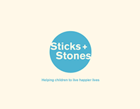 Sticks + Stones Anti bullying Workshops App Design