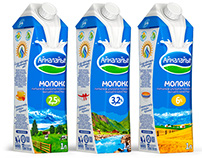 Packaging design MILK