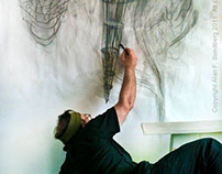 Drawing at the Wall - Alan Sundberg