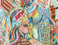 Hidden Couples Ethnic Prints