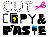 Logo Design: CUT COPY PASTE
