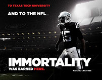 Texas Tech Football [Graphic Design]