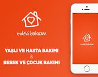 EvdekiBakıcım App - iOS UI&UX Mobile Design