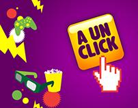 A UN CLICK; webshow