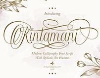 Free Kintamani Script Font