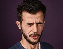 Portrait Retouch  GEO magazine