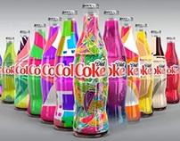 Diet Coke: Millions of one of a kind bottles.