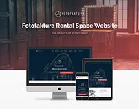 Fotofaktura website design and custom wordpress