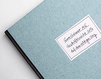 stilisierte Handschrift – Geschäftsbericht