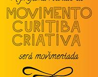 Movimento Curitiba Criativa - Convites