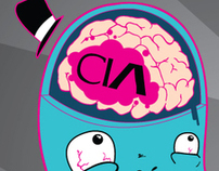 09' CIA Tshirt Design submission