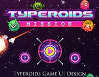 Typeroids Mission (Flash Game Design)