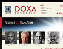 The DOXA Conference Website