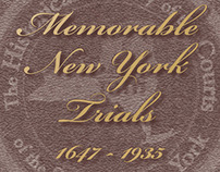 Memorable New York Trials—calendar