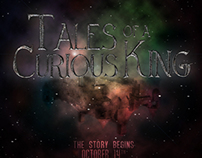Tales of a Curious King // sermon series branding