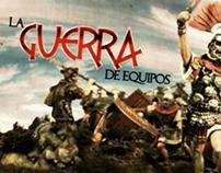 La Guerra de Equipos para Televisa