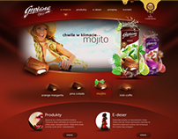 Goplana Website Concept