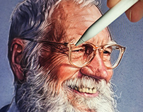David Letterman - Netflix Art OFFICIAL
