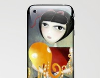 Doll iPhone & iPod Skins Laptop Skins T-shirts