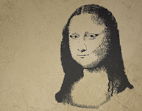 Mona Lisa's Vector
