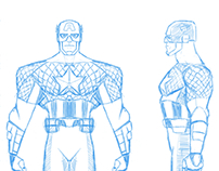 Captain America Animation