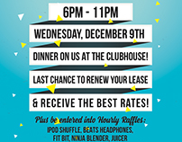 Leasing Party Flyer