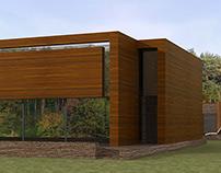 Проект дома в стиле экоминимализм