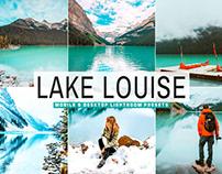 Free Lake Louise Mobile & Desktop Lightroom Presets