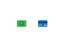 Icons for Cashback & Refund in the mobile app.