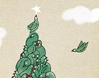 Christmas bird's reunion